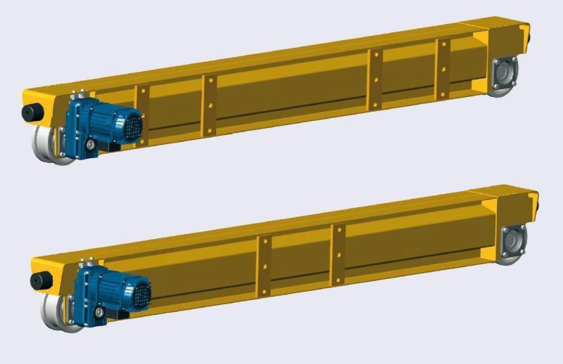 Cabeceira para ponte rolante