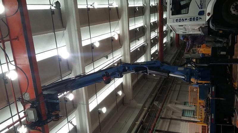Manutenção de ponte rolante