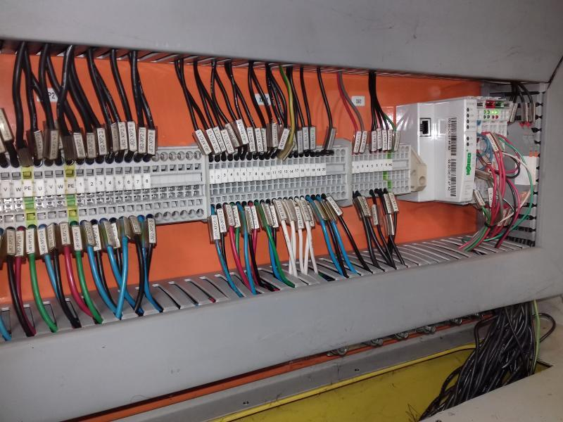 Painel elétrico para ponte rolante