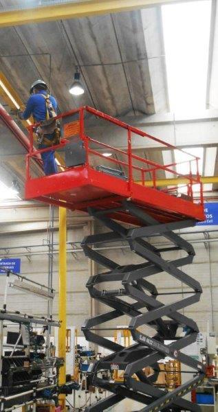 Ponte rolante manutenção preventiva