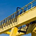 Cortina de cabo ponte rolante