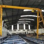Fabricantes de porticos rolantes
